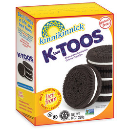 KinniTOOS Chocolate Sandwich Creme Cookies