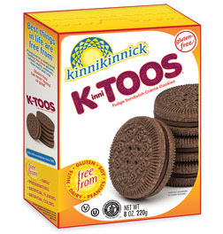 KinniTOOS Fudge Sandwich Creme Cookies