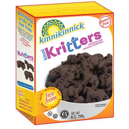 KinniKritters Chocolate Animal Cookies