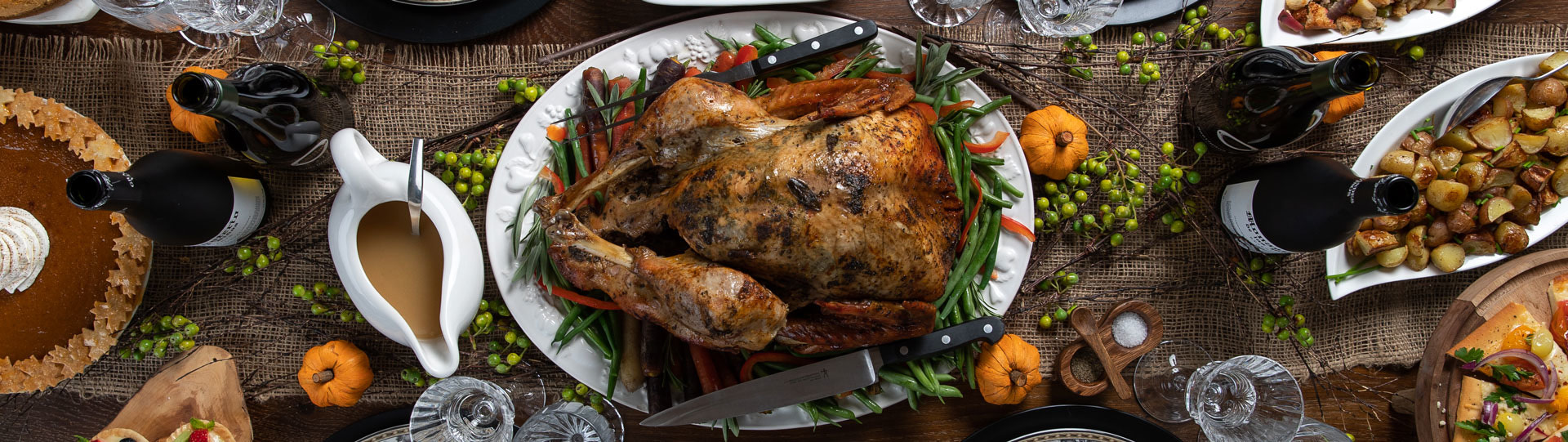 Celebrate Thanksgiving at Kinnikinnick