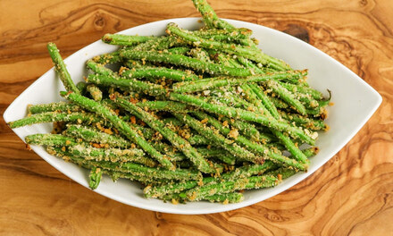 Panko Crusted Green Beans