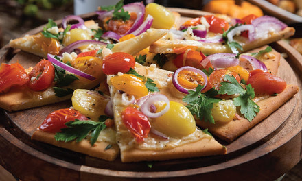Tomato and Onion Flatbread
