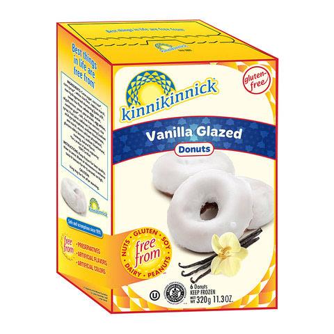 Vanilla Glazed Donuts